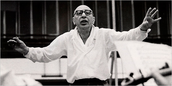 Stravinsky Conducting