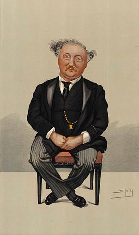 John Stainer (Vanity Fair, 29 August 1891)