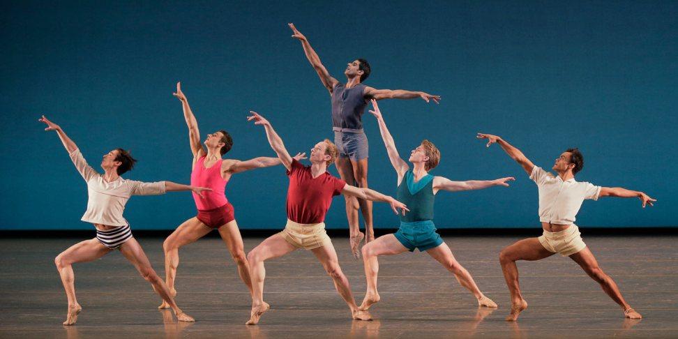 The New York City Ballet dances Paz de la Jolla.