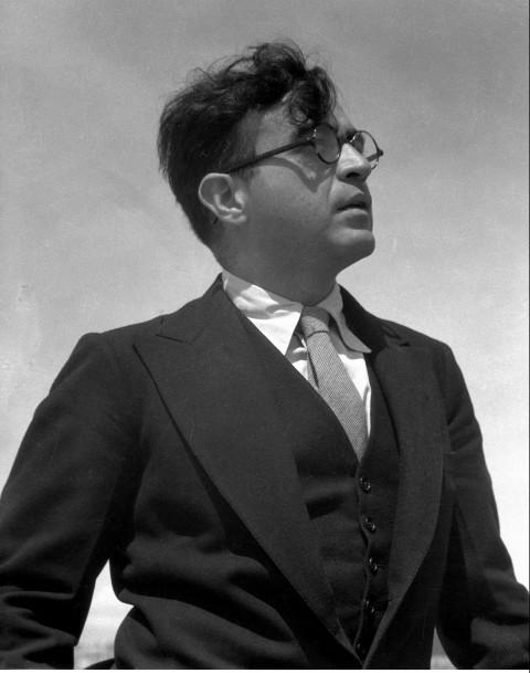 Carlos Chávez by Manuel Álvarez Bravo, ca, 1930-40. © Colette Urbajtel/Archivo Manuel Álvarez Bravo