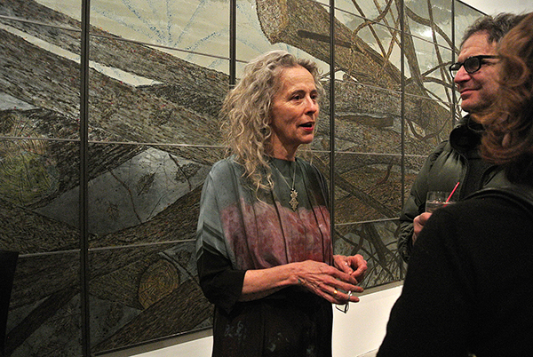 Kiki Smith. Photo Virginia Raguin.