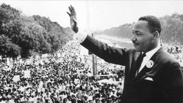 Martin Luther King Jr. in Washington. We remember.