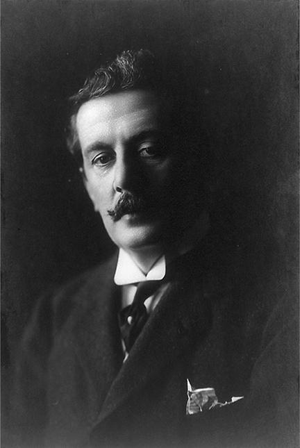 Giacomo Puccini. © Frank C. Bangs, Library of Congress.