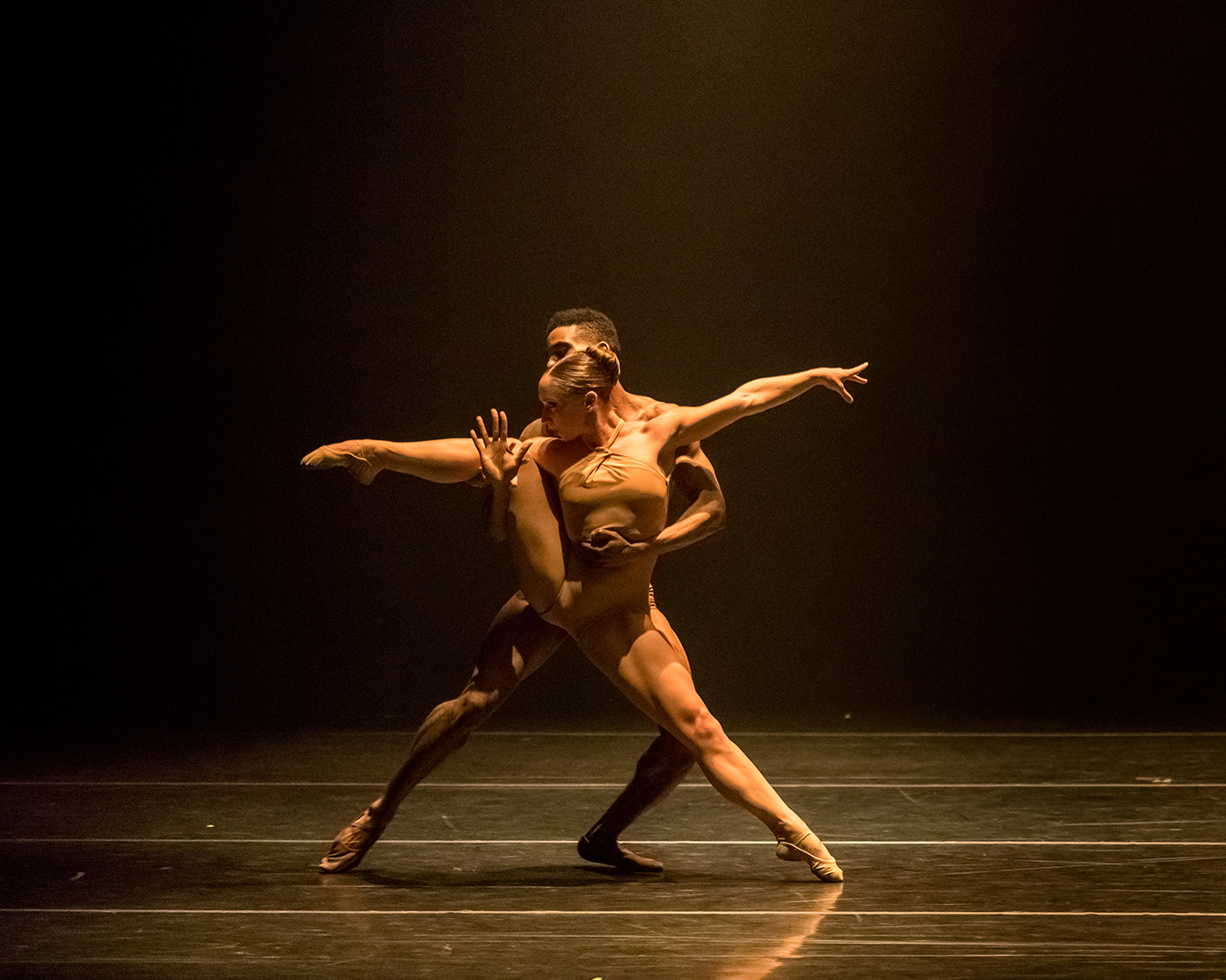 Bach 25 and Star Dust by Complexions Contemporary Ballet at the Joyce Theater. Closes March 3.