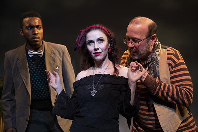 The Frog and Peach Theater Company presents Shakespeare's Twelfth Night at the Sheen Center