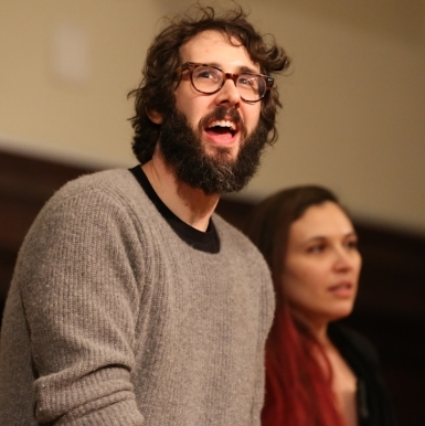 Josh Groban and Dave Malloy Lead Great Comet Fans in Cast Album Recording Session