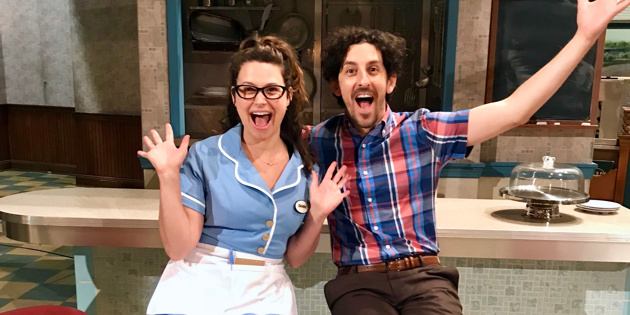 Married Couple Katie Lowes & Adam Shapiro to Join Broadway's Waitress