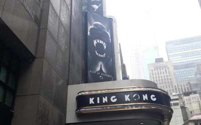 ON THE MARQUEE: Crowds are roaring for the breathtaking spectacular that is King Kong