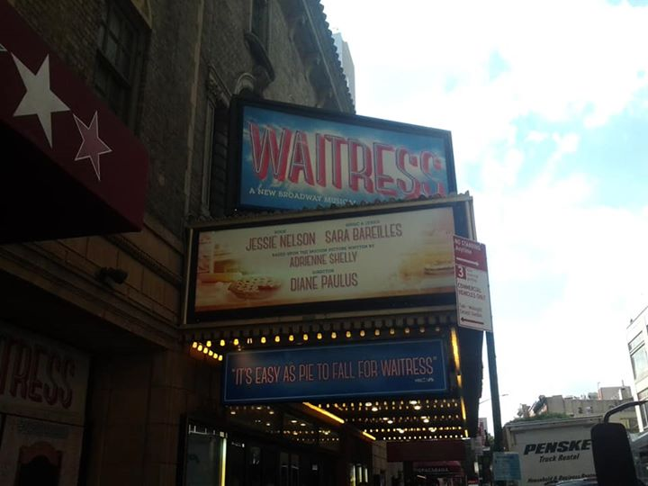 ON THE MARQUEE: Earlier this week Nicolette Robinson (Off Broadway's Brooklynite and