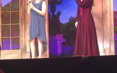 THE ANYAS DUET OF A LIFETIME! Christy and Liz Callaway performing JOURNEY TO THE PAST live on Broadw…