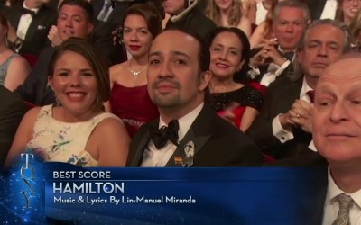 In honor of Pride weekend…. Last year's highlighted Tony Awards speech from Lin-Man…