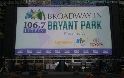 JUST ANOTHER DAY!! Come on down at 12:30pm for Day 3 of BROADWAY IN BRYANT PARK 2017.