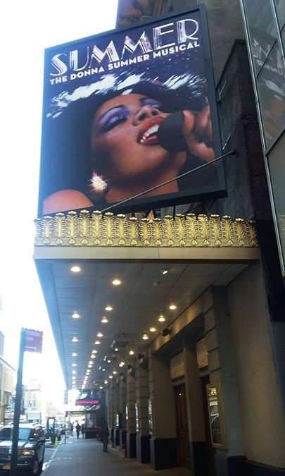 ON THE MARQUEE: TOOT TOOT!! BEEP BEEP!! The Lunt Fontanne Theatre is about to get som