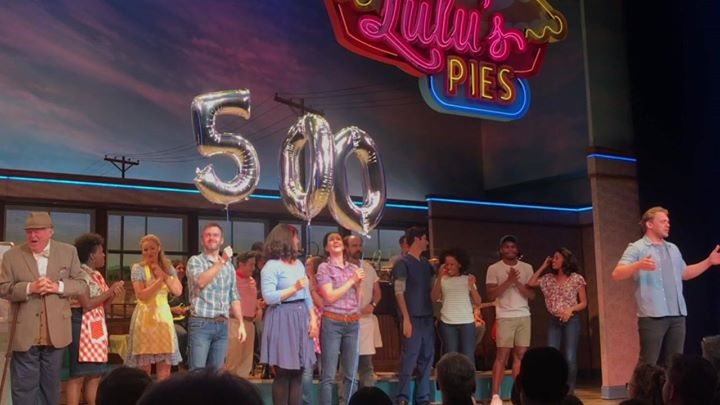 SUGAR, BUTTER, FLOUR, BALLOONS, EXTRA PIE!!! Congrats to the Broadway company of Wait…