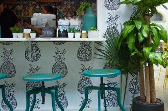 Bowery Market - pop up restaurant -
