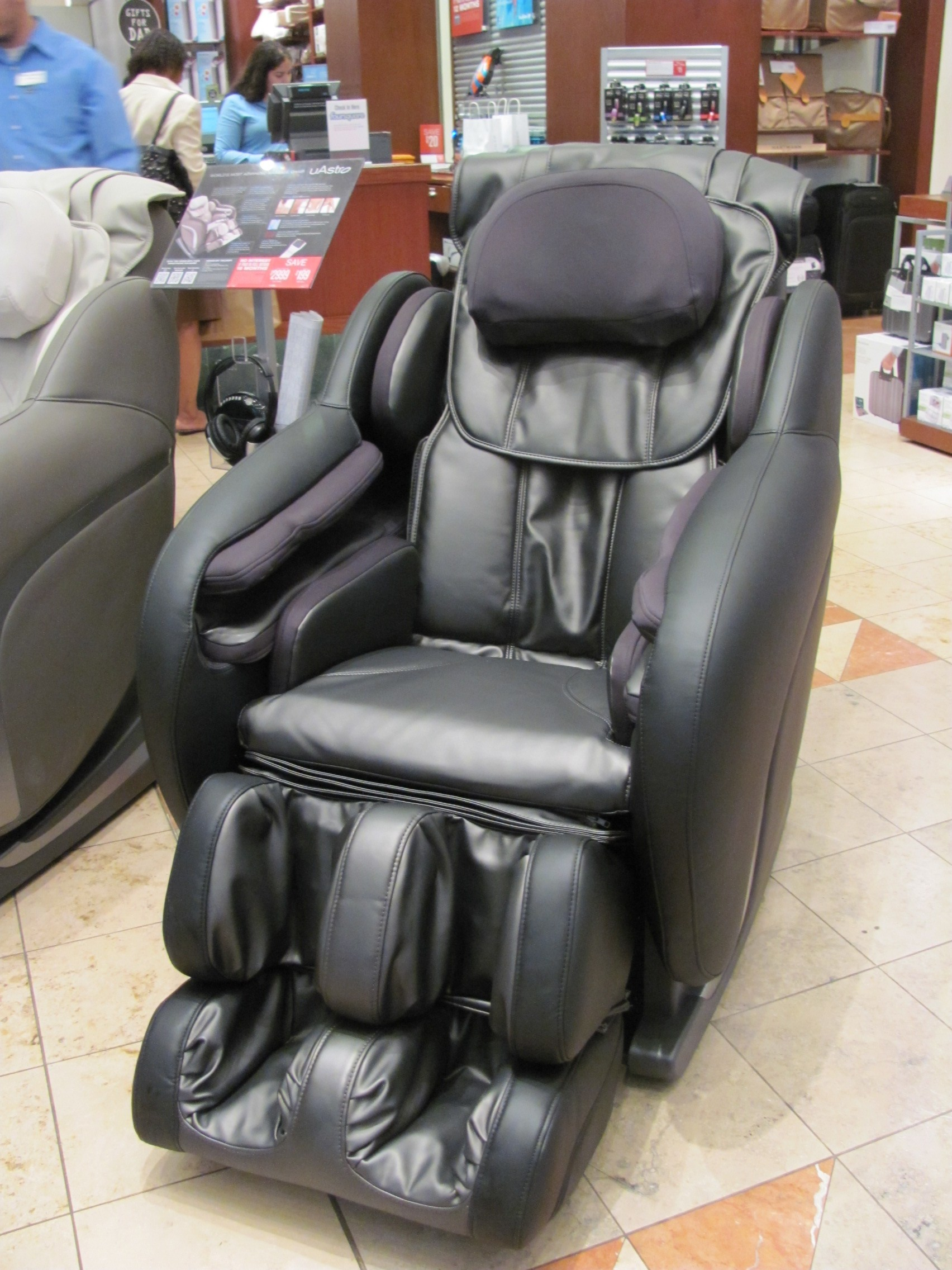 brookstone zero gravity chair toddler upholstered chairs shopping at for fathers day