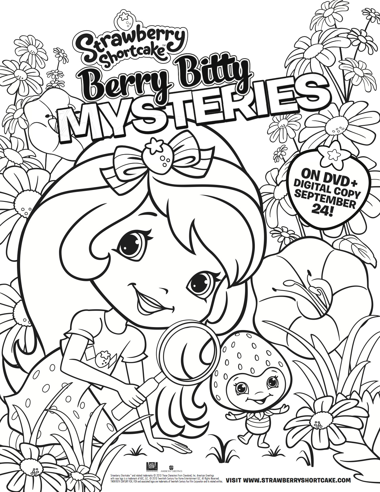 Strawberry Shortcake: Berry Bitty Mysteries Coming to DVD