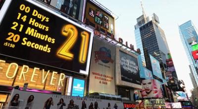 Nákupné šialenstvo: Forever 21 na Times Square