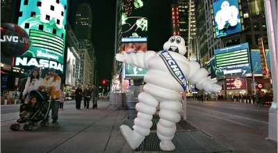 Michelin rozdával hviezdy na rok 2011