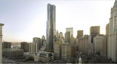 Ďalší mrakodrap v New Yorku: Obrí Vrták od Gehryho