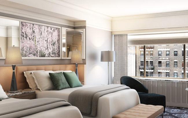 Zrenovovaná izba v Loews Regency Hotel