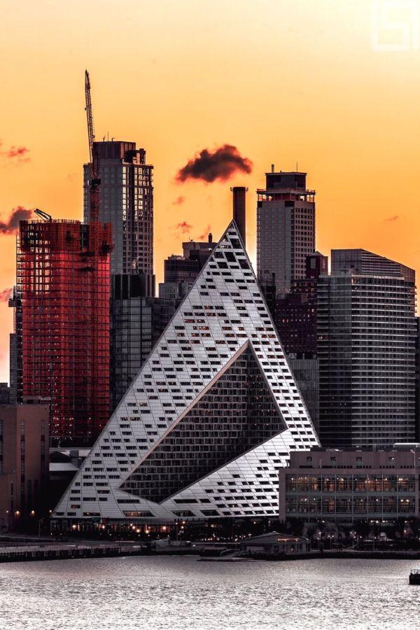 Pyramid Building West 57th Street New York City
