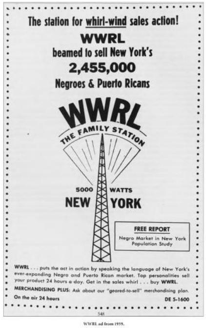 WWRL Ad