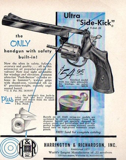Harrington & Richardson Revolver Ad