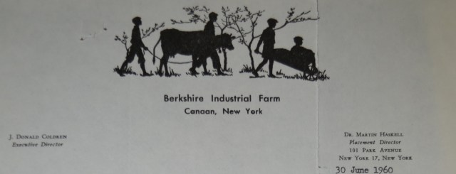 Berkshire Industrial Farm Letterhead