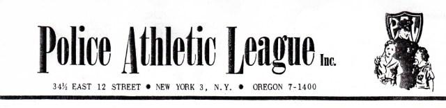 P.A.L. Logo 1959