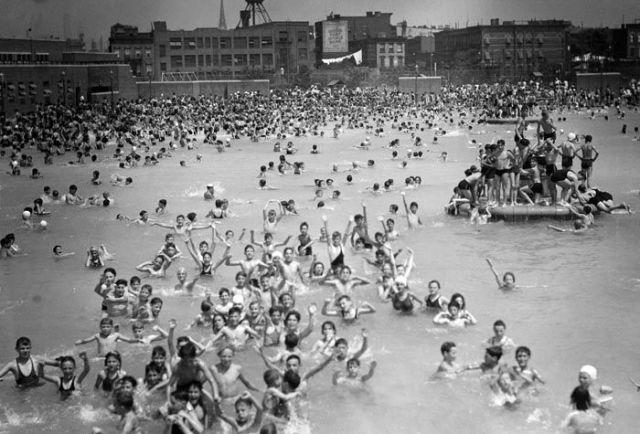 McCarren Park Pool 1937