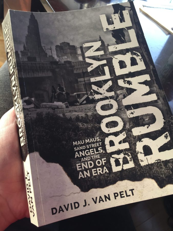 "Book ""Proof"" of Brooklyn Rumble"