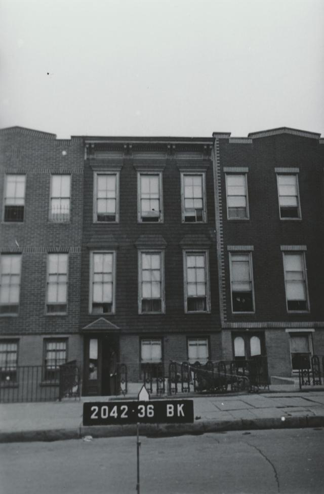 81 North Oxford Street, Home of the Cuomo family, 1941