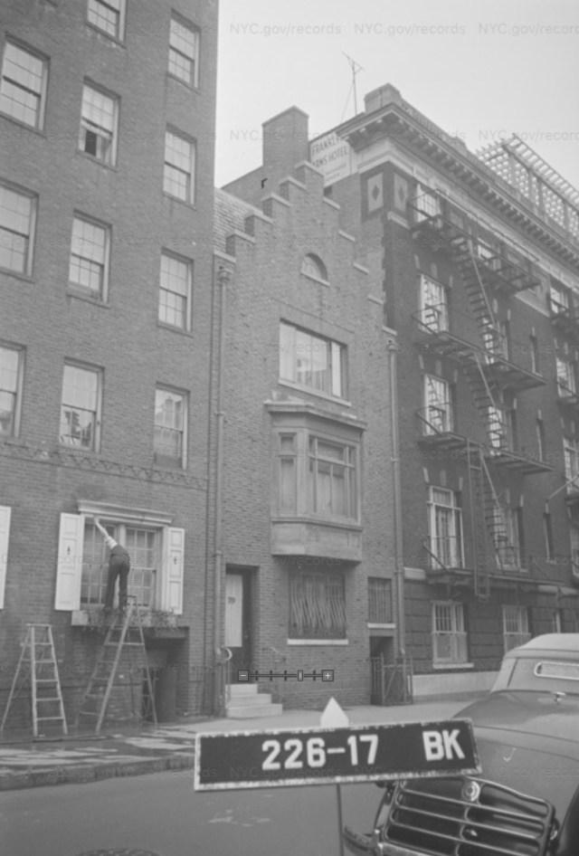 70 Orange Street Photo Taken Circa 1939-1941 - Home of Musician Charles Smith