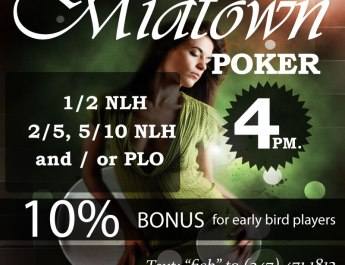 No Limit Holdem Poker in Midtown