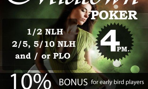 No Limit Holdem Poker in Midtown