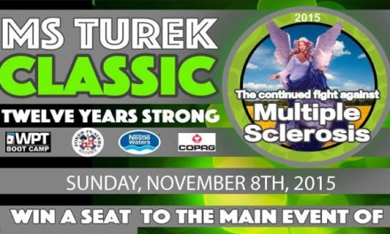 12th Annual MS Turek Classic Charity Poker || Grand Prize is a WSOP Main Event seat