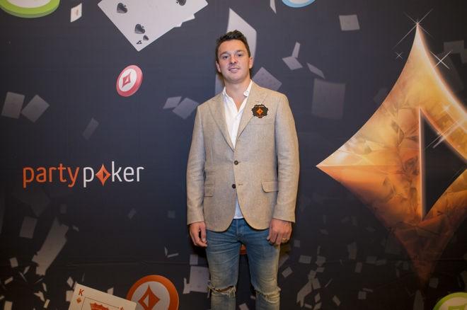 Sam Trickett Signs as a partypoker Ambassador