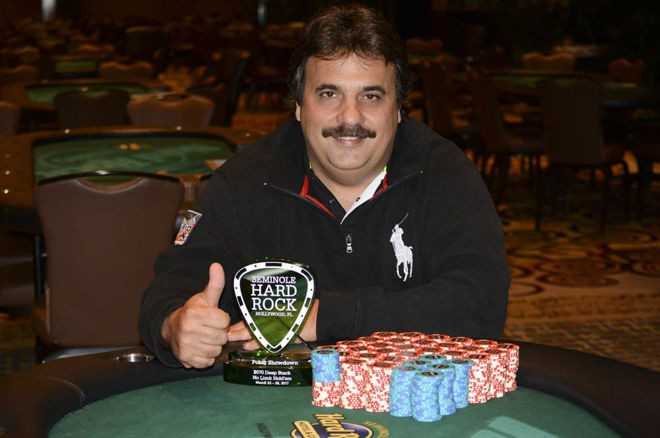 Vittorio Maraone and Nick Shkolnik Top Field of 2,923 At SHR