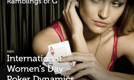 International Women's Day: Exploring Poker Dynamics