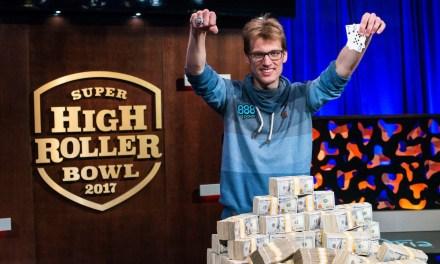 Christoph Vogelsang Wins Area Casino 2017 Super High Roller Bowl