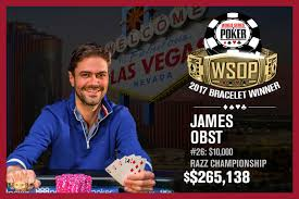 2017 WSOP: James Obst Wins First Bracelet