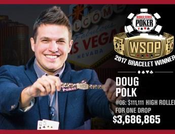 Doug Polk Wins 2017 World Series of Poker $111,111 One Drop High Roller