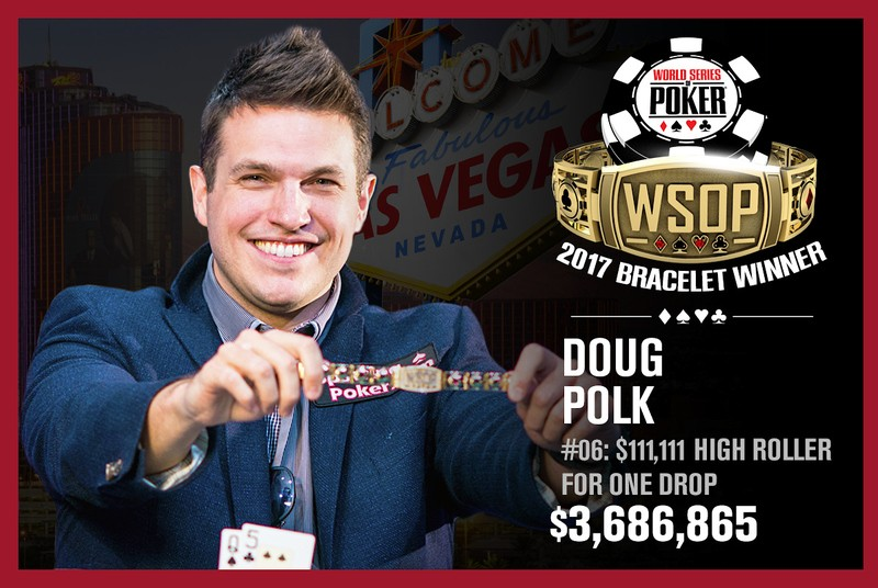 2017 WSOP: Doug Polk Wins Third Bracelet