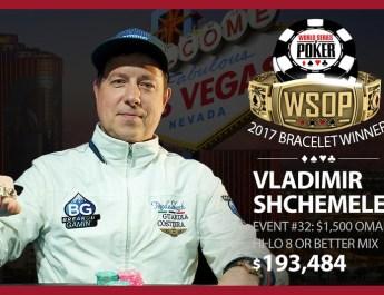 Vladimir Shchemelev Wins 2017 World Series of Poker