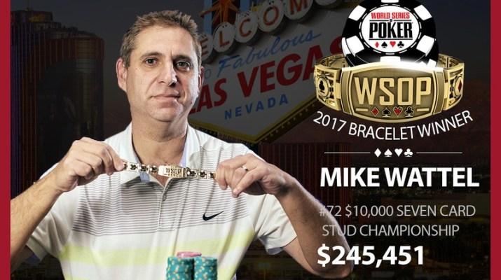 Mike Wattel Denies Chris Ferguson, Wins Second Career World Series of Poker Bracelet