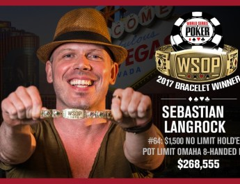 Sebastian Langrock Wins 2017 World Series of Poker $1,500 NLHE/PLO Event