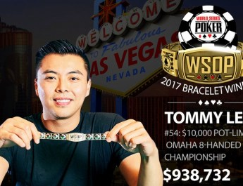 Tommy Le Wins 2017 World Series of Poker $10,000 Pot-Limit Omaha Championship