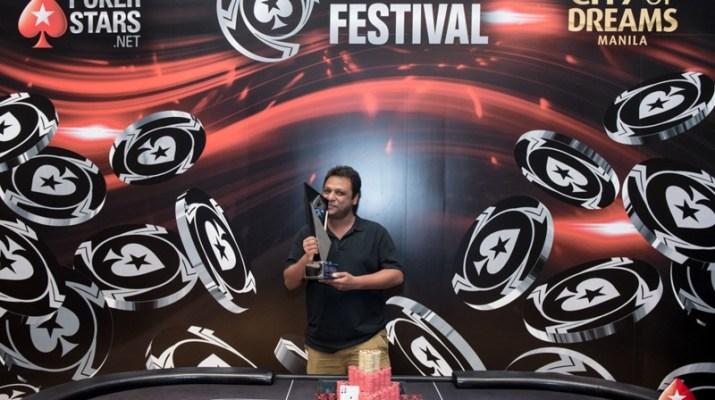 PokerStars Festival Manila: Uday Bansal bests record-breaking Main Event