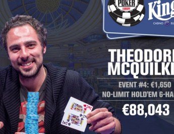 Theodore McQuilkin Wins 2017 World Series of Poker Europe €1,650 Six-Max No-Limit Hold'em